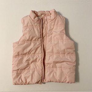 Baby Gap pink puffer vest